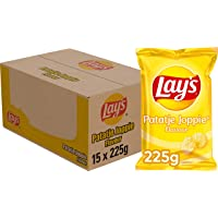 Lay's Chips Patatje Joppie, Doos 15 stuks x 225 g