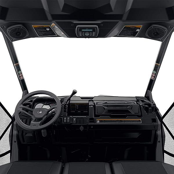UR CAN-AM DEFENDER BLACK COMPLETE SOFT CAB ENCLOSURE KIT #715002917