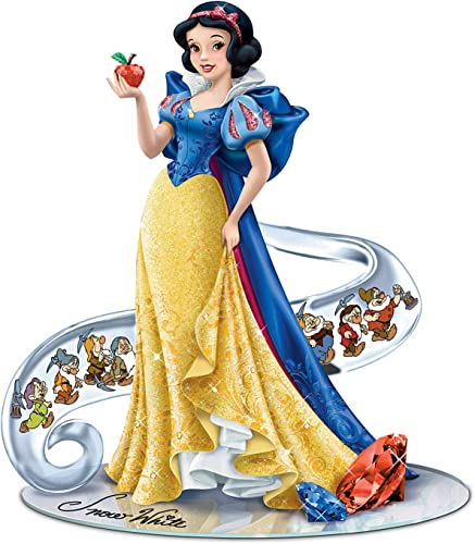 The Hamilton Collection Disney s Snow White Fairest of Them All Figurine Enhanced with Swarovski Crystals