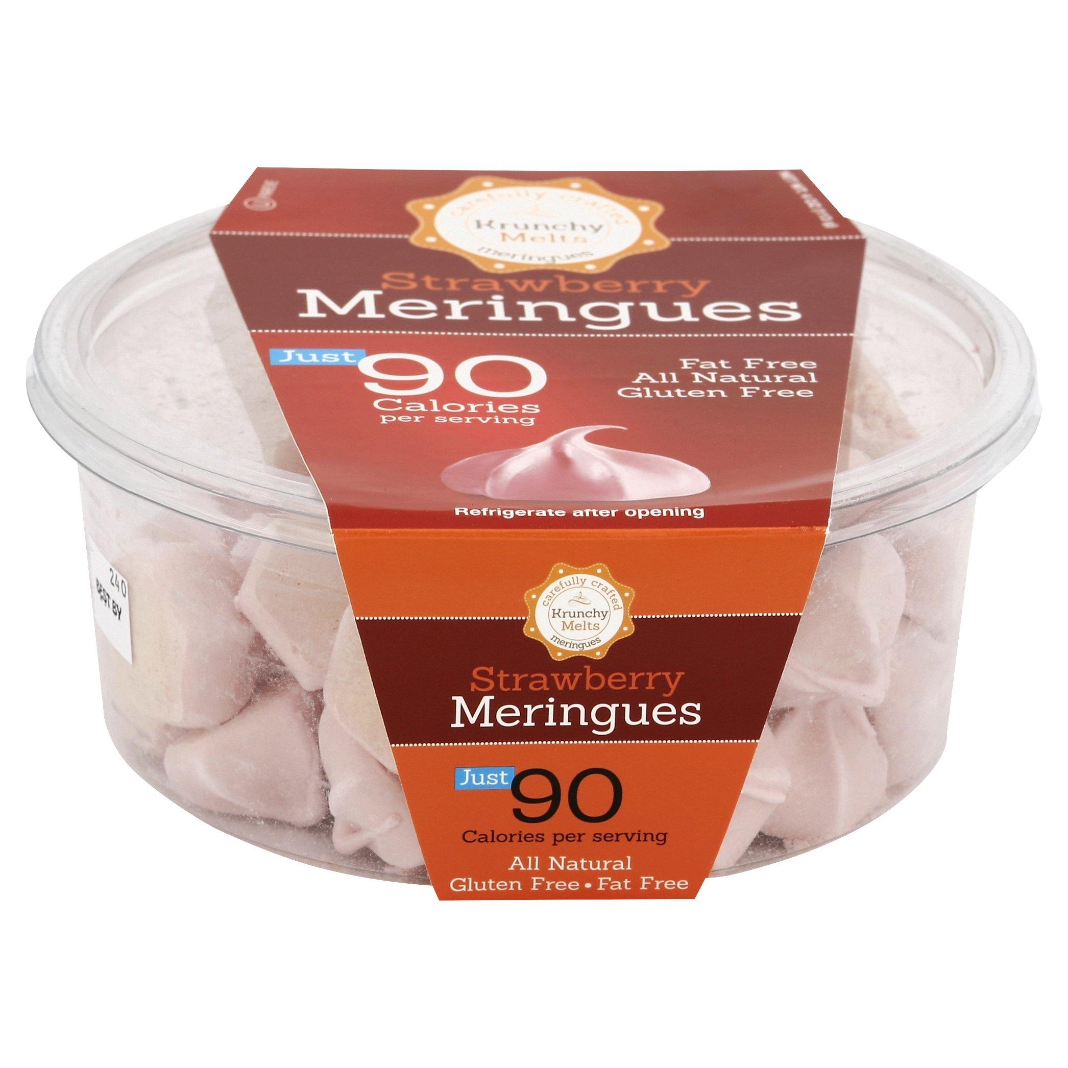 Krunchy Melts Meringue Tub Strawberry
