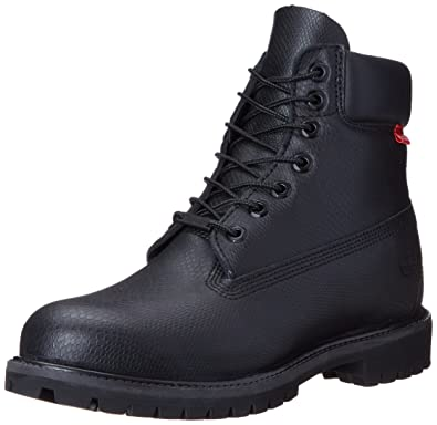 Timberland Men's 6 inch Premium Waterproof Boot, Black Helcor Exotic  Leather, ...