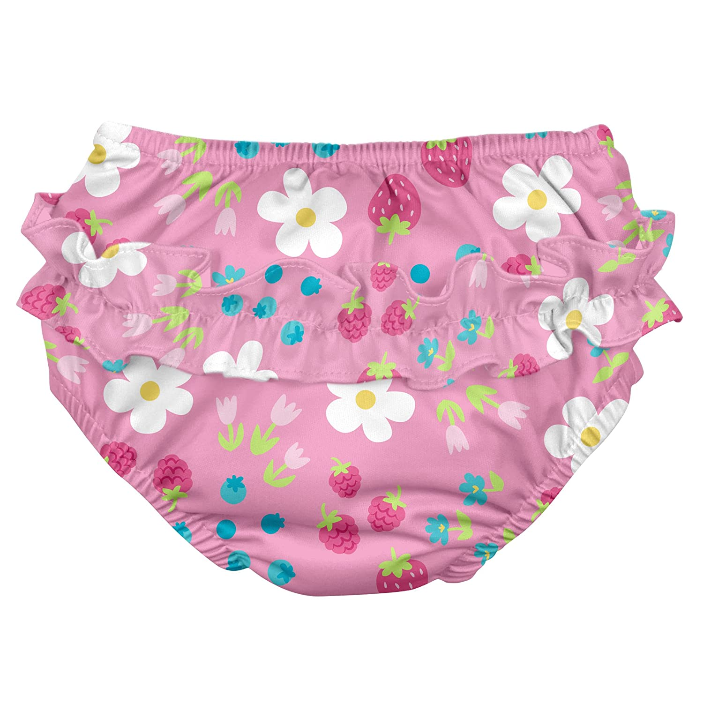 iPlay M/ädchen Schwimmwindel Light Pink Daisy Fruit