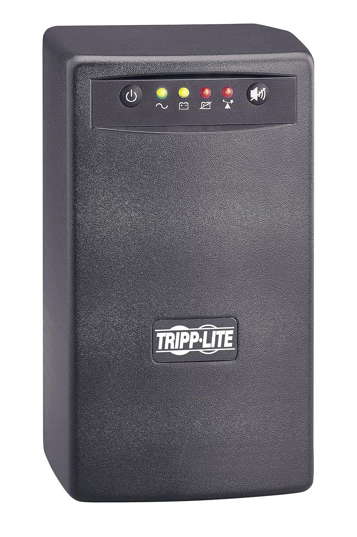 Tripp Lite SMART550USB 550VA 300W UPS Battery Back Up Tower AVR 120V USB RJ11, 6Outlets