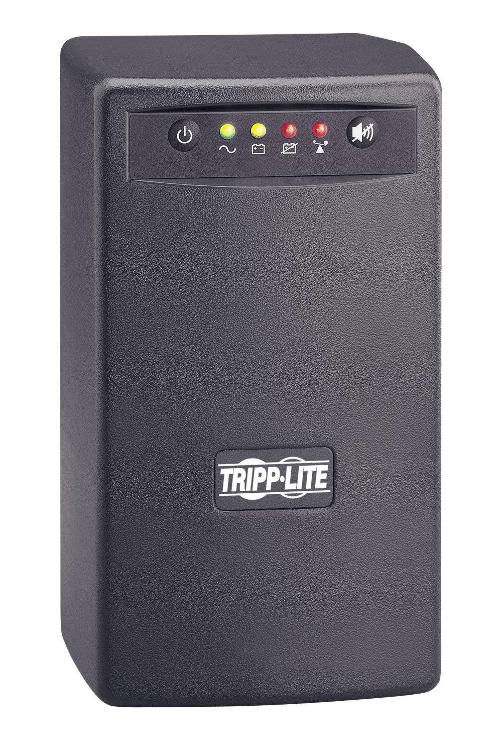 Tripp Lite SMART550USB 550VA 300W UPS Battery Back Up Tower AVR 120V USB RJ11, 6 Outlets
