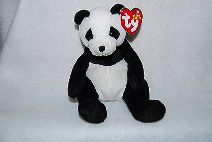 d4af4a1408c Amazon.com  Ty Beanie Baby - Mandy The Panda Bear  Toys   Games
