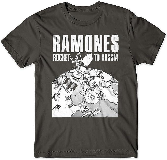 LaMAGLIERIA Camiseta Hombre Ramones Rocket To Russia Cod Rs03 ...