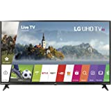 LG Electronics 43UJ6300 43-Inch 4K Ultra HD Smart LED TV (2017 Model) (Certified Refurbished)