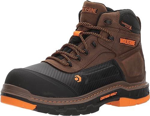 """wolverine men's overpass 6"""" composite toe"""