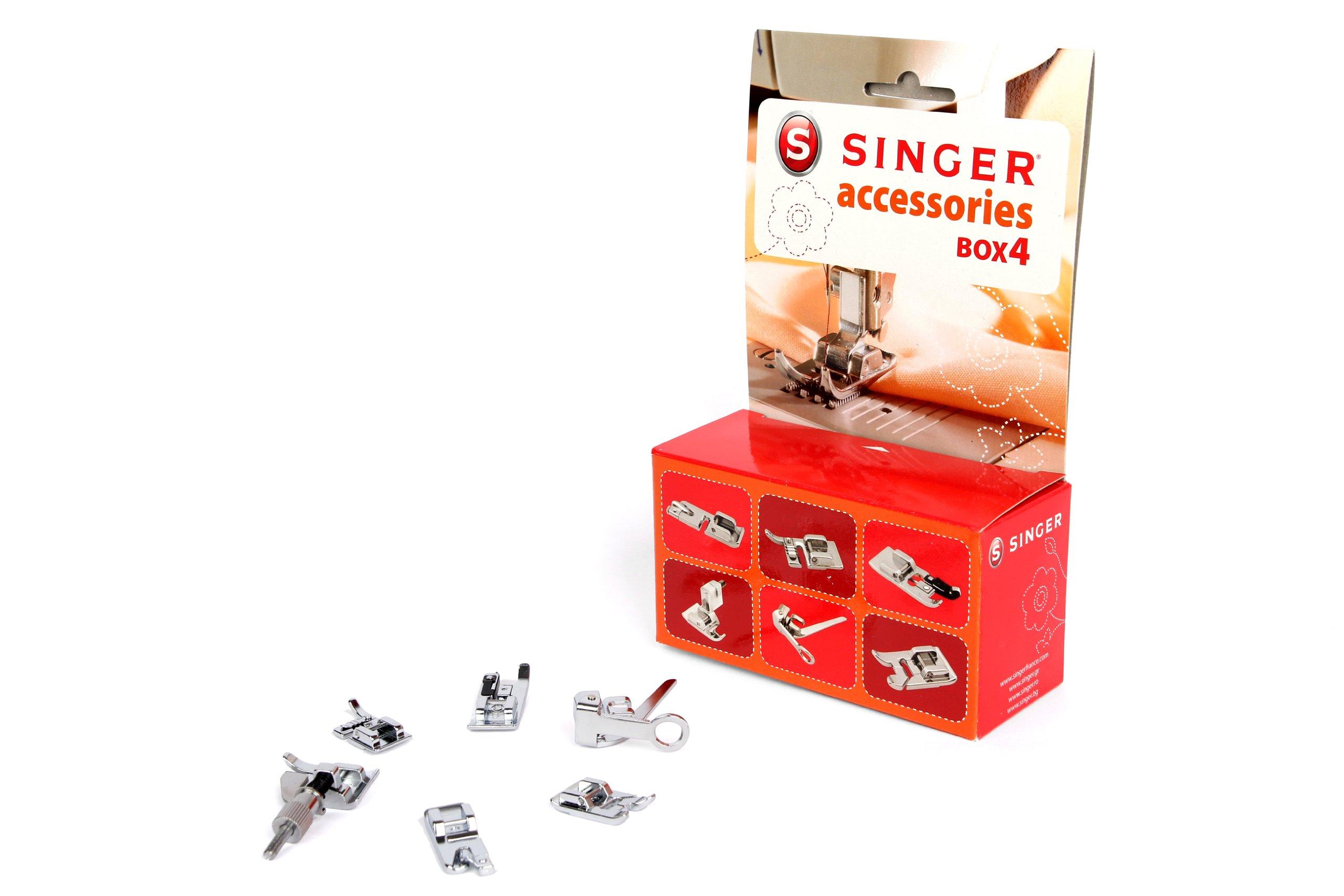 Singer Kit Accessoires 4 - Kit de accesorios nº 4 para máquina de coser (pies