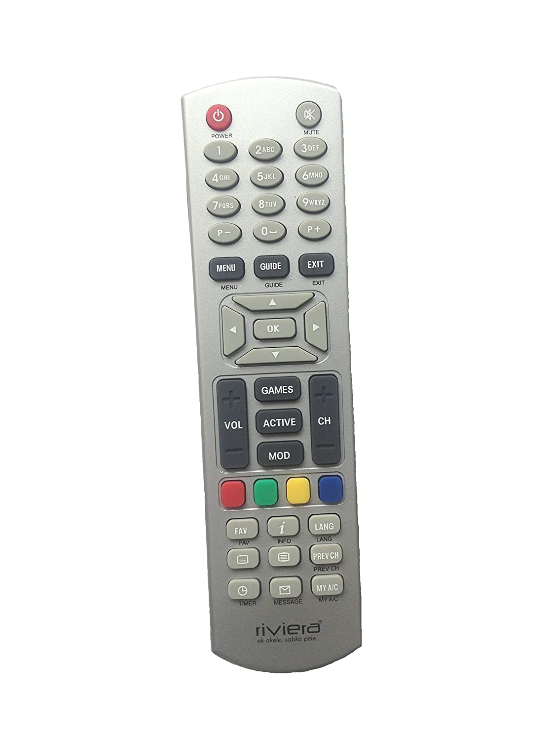 Riviera 344 Remote Controller (For Dish TV)