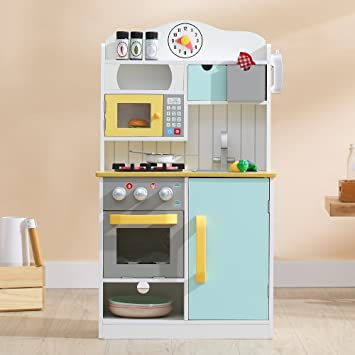 Teamson Kids - Florence Wooden Play Kitchen with Accessories, 21.50\