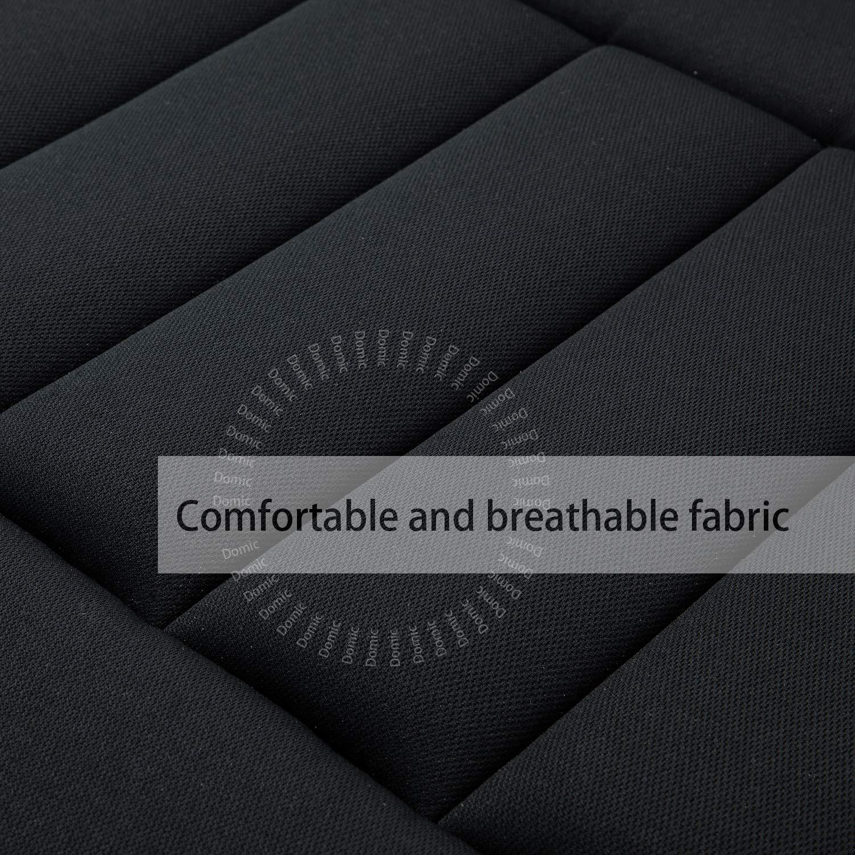 Car Seat Cushion Pad for Car Driver Seat Office Chair Home Use Memory Foam Seat Cushion Black