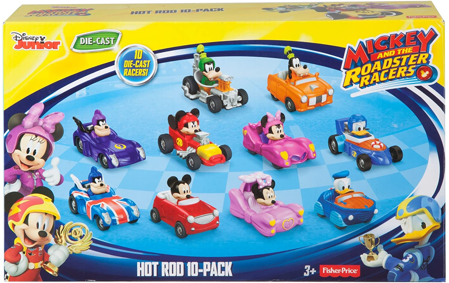 Amazon.com: Fisher-Price Disney Mickey & the Roadster Racers, Hot ...