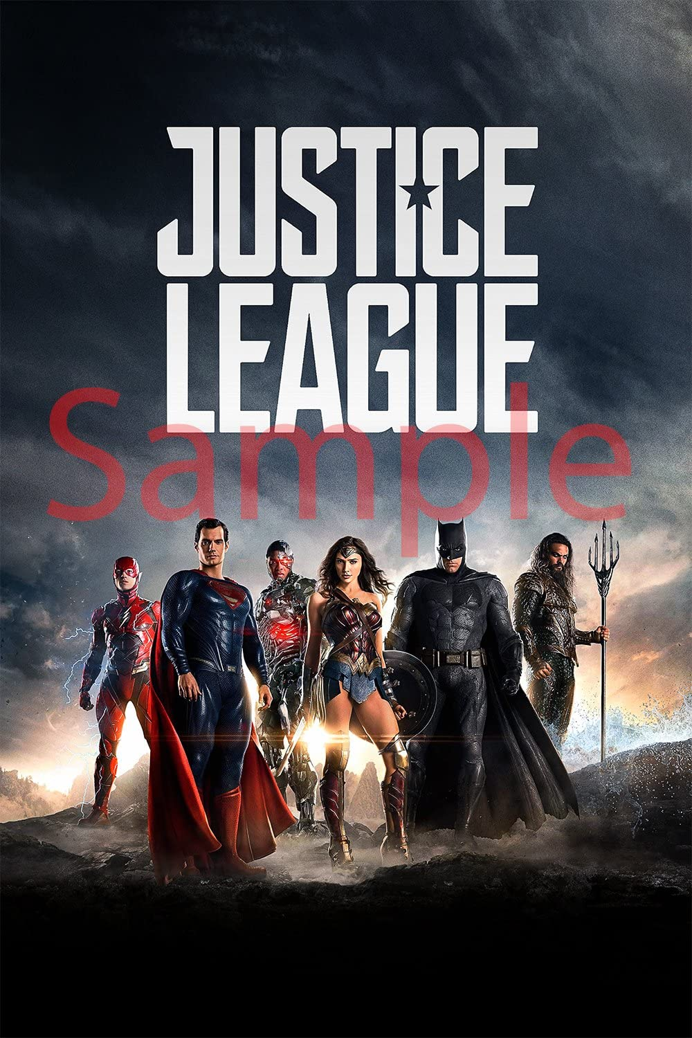 Best Print Store - Justice League 2017, The Movie Poster (11x17 inches)