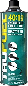 TruFuel 2-Cycle 40:1 Pre-Blended Fuel for Outdoor Power Equipment - 32 oz. (Case of 6)