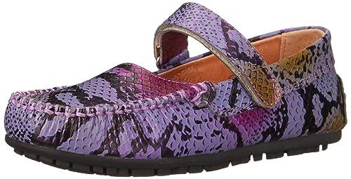 umi Marvene - Mocasines de Cuero para niña púrpura Morado (Purple) 34.00: Amazon.es: Zapatos y complementos