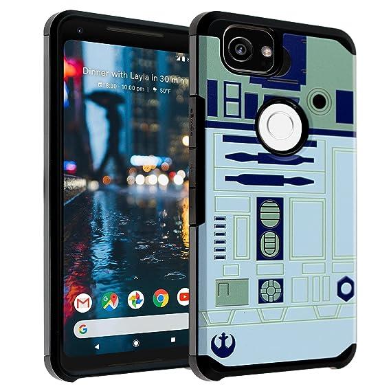 best service 1b224 a3de7 Star Wars R2D2 Google Pixel 3 Case, DURARMOR Dual Layer Hybrid Shockproof  Slim Fit Armor Case Cover for Google Pixel 3 (2018) R2D2