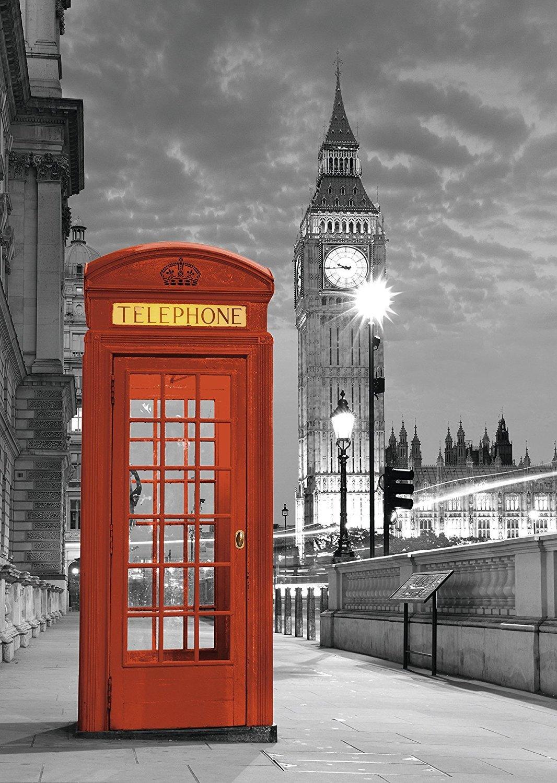 Pack Puzzle Ravensburger 19475. Cabina Telefono Londres y Big Ben. 1000 piezas + Pegamento Puzzle: Amazon.es: Juguetes y juegos