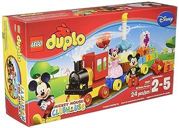 Mickey Minnie Duplo Birthday Brand And 10597 Parade Disney Lego c5qARL34j