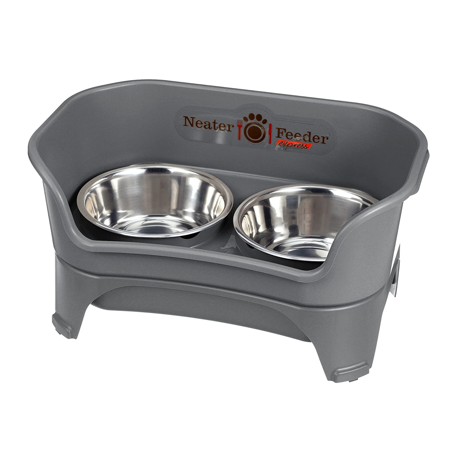 Neater Feeder Express and Variations - Elevated, Non Skid/Tip Mess Proof Dog/Cat Pet Feeders