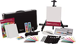 Studio 71 30057430 101 Piece Art and Easel Set, 101-Piece