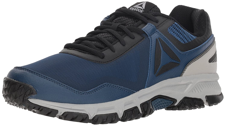 Reebok Men's Ridgerider Trail 3.0 Walking Shoe B077Z9H6YG 7 M US Bunker Blue/Black/Tin Gre
