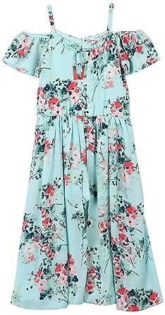a7706d773 Amazon.com: Speechless Girls' Big Shoulder Walk-Through Romper Dress ...