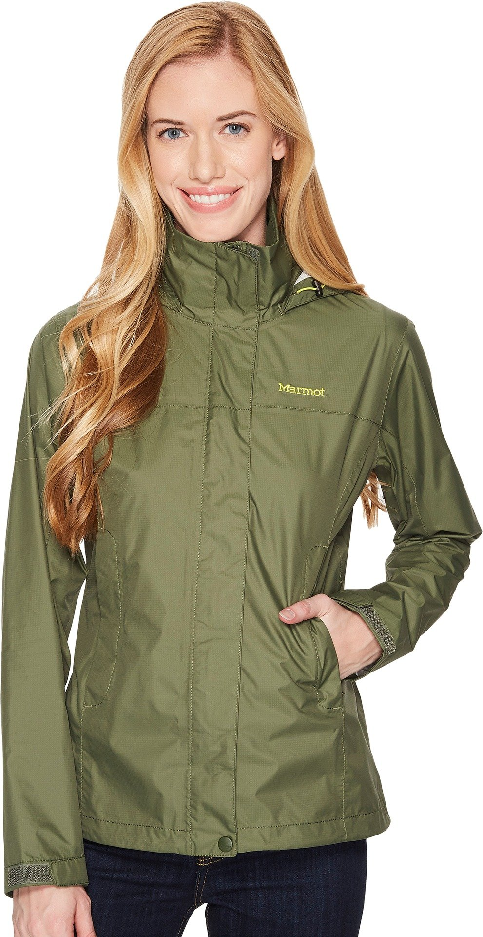 Marmot Women's PreCip Jacket Crocodile XX-Large