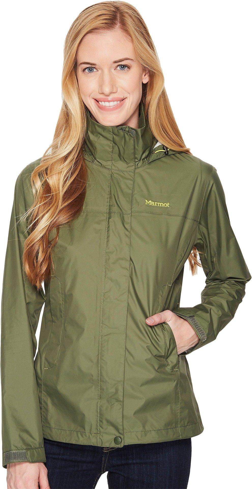 Marmot Women's PreCip Jacket Crocodile XX-Large by Marmot