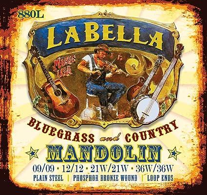 La Bella 880L Mandolin String Set Light