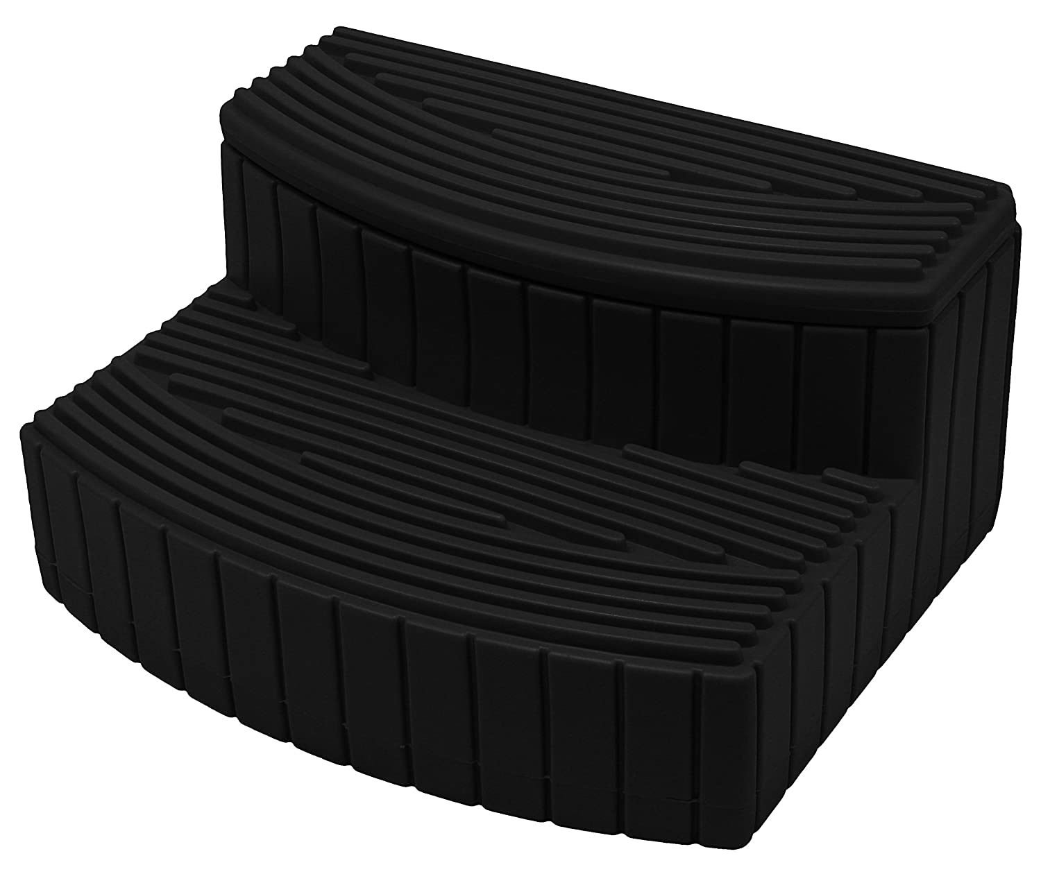 Good Ideas SSTEP-BLK Store-A-Step for Storing Supplies, Black