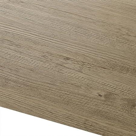 [neu.haus] Suelo de vinilo - PVC (1m²) autoadhesivo - suelo de diseño - laminado (7 planchas = 0,975 m2) roble- edición natural