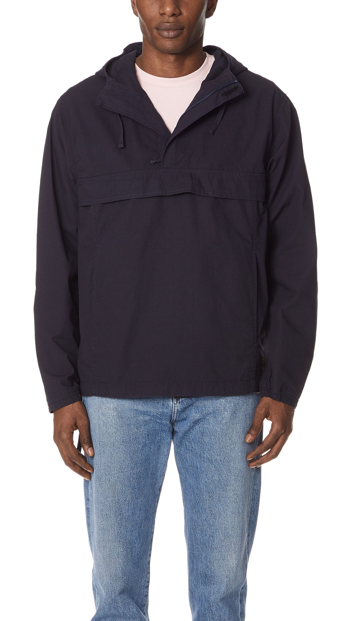 Carhartt WIP Men's Vega Pullover Jacket, Dark Navy, Small by Carhartt
