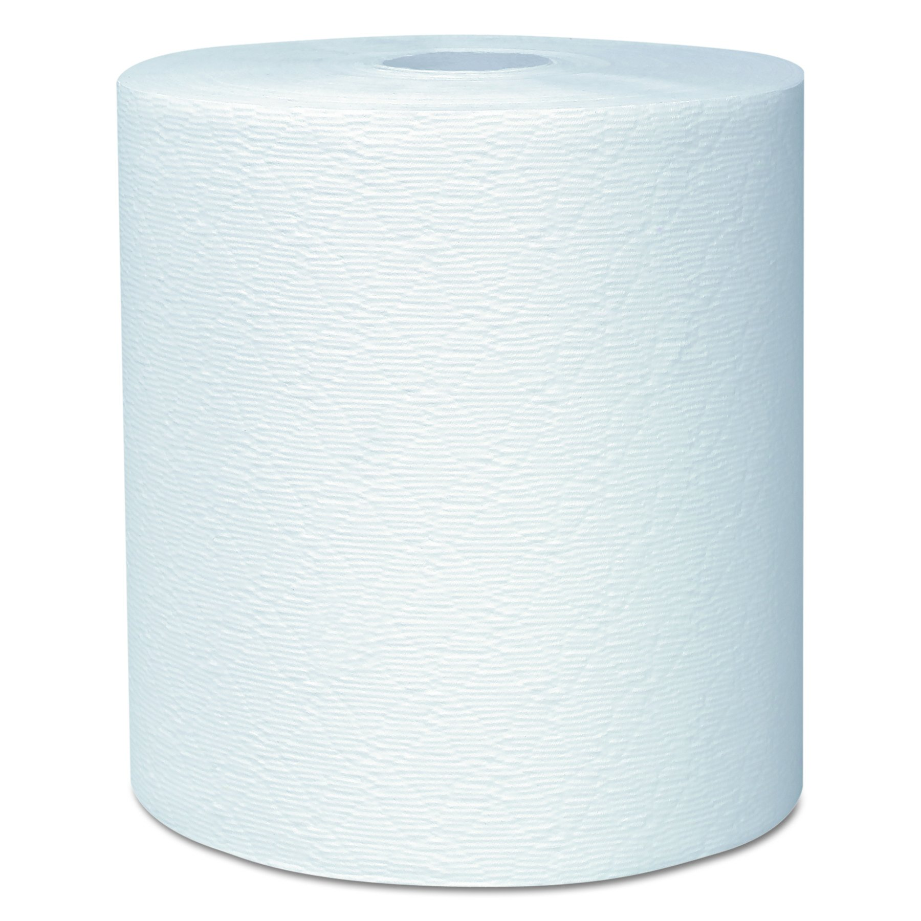 Kleenex 50606 Hard Roll Towels, 8 x 600ft, 1 3/4'' Core dia, White (Case of 6 Rolls)