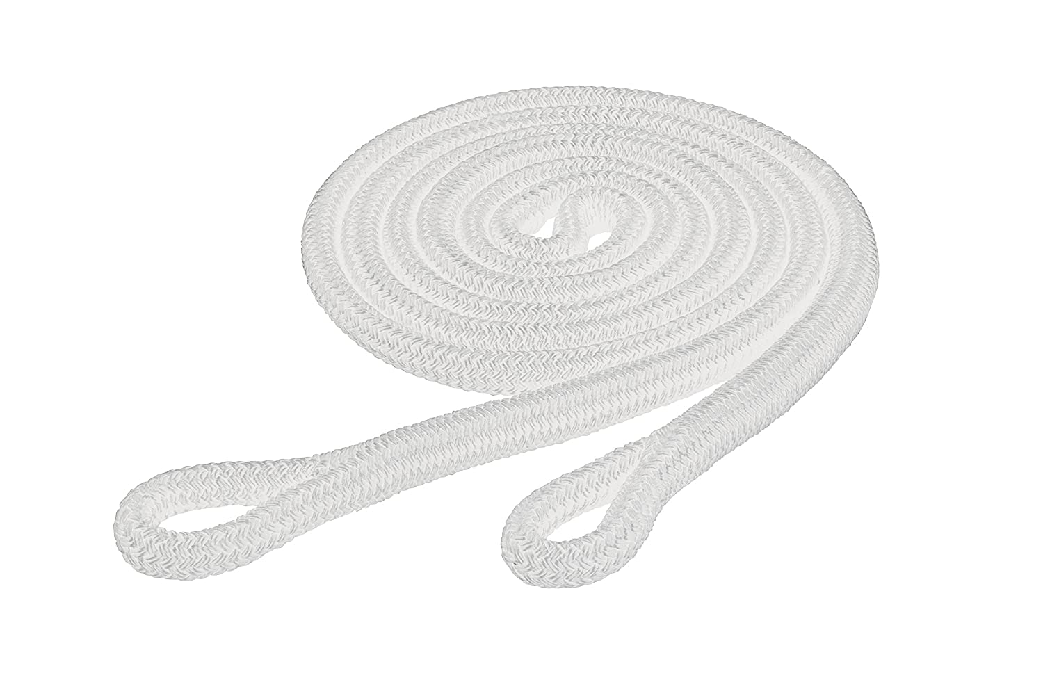 Weaver Leather Weaver Leather Ken McNabb Yacht Braid Loop Reins, White 35-4702-WH, White, 9 16  x 10'