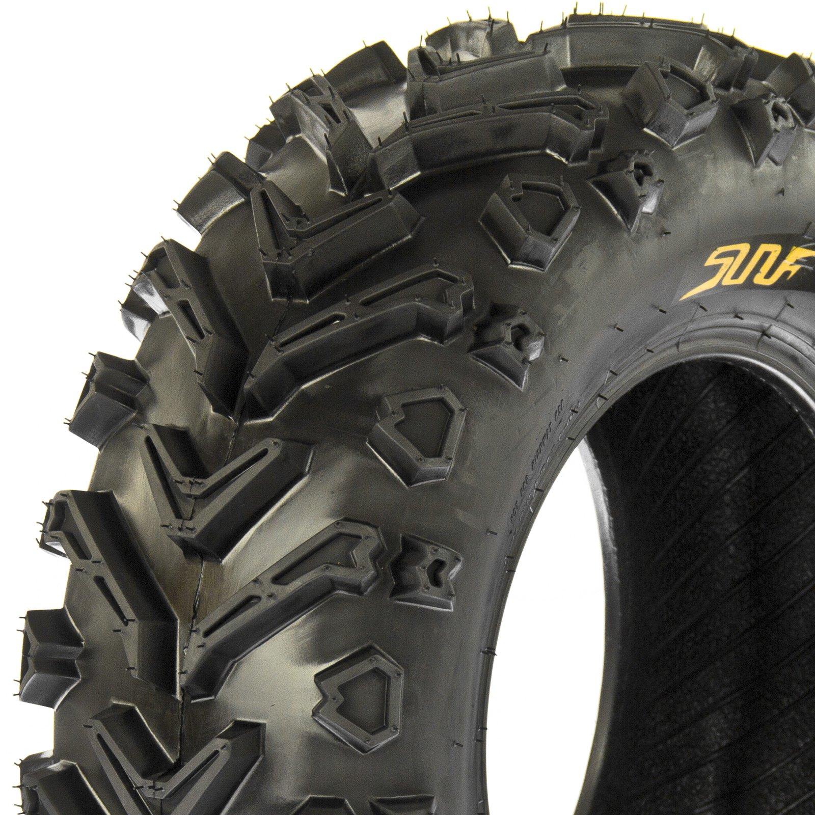 SunF All Trail & Mud ATV UTV Tires 24x8-12 24x10-11 6 PR A041 (Complete Full Set of 4) by SunF (Image #6)