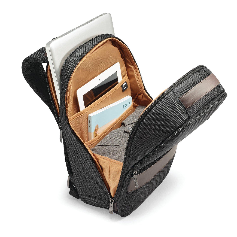 Samsonite Komni Small Backpack, Black/Brown, One Size by Samsonite (Image #3)
