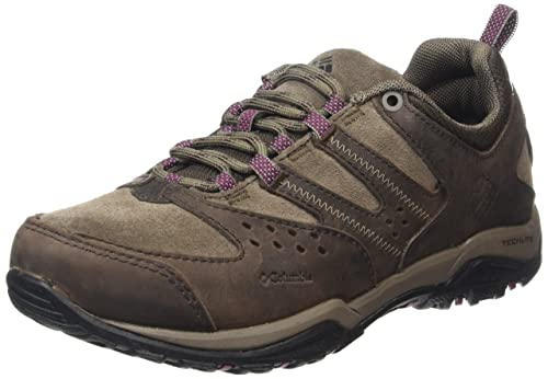 Columbia Peakfreak Xcrsn Leather Outdry, Women's Low Rise Hiking Shoes,  Multicoloured (Cordovan/