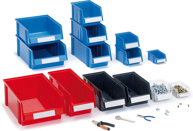 Blue Tres Tone Plastic Storage Box 1940/6