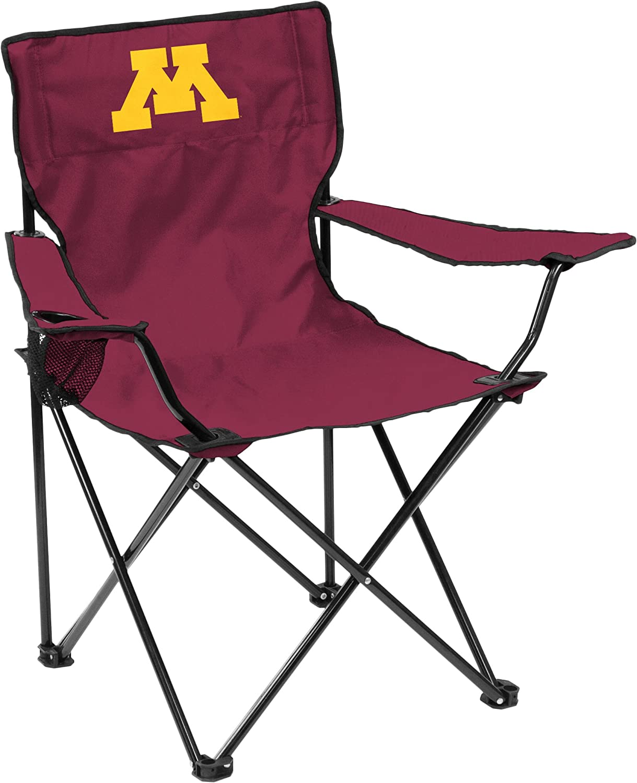 NCAA Logo Brands Minnesota Golden Gophers Quad Chair Team Color