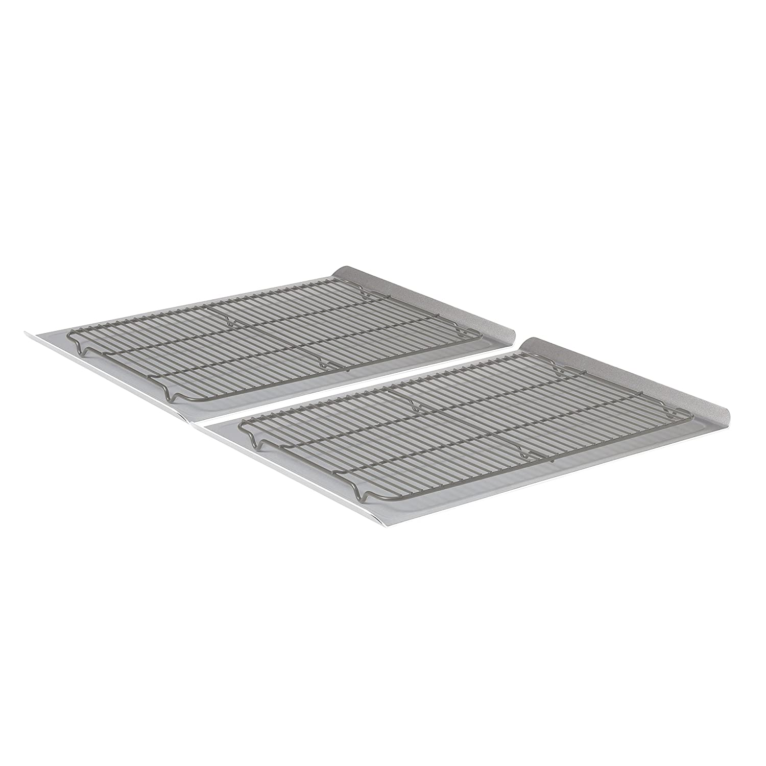 Calphalon Nonstick Bakeware, Cookie Sheet, 2-Piece Set