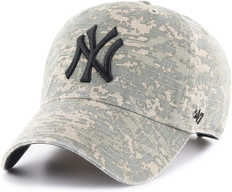 47 Brand - Gorra New York Yankees - B-PHLNX17RCS-DI - Verde, U ...
