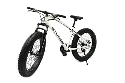 Buy Sturdy Fat Bike With 26x4 Inch Tyres Mountain Fat Bike
