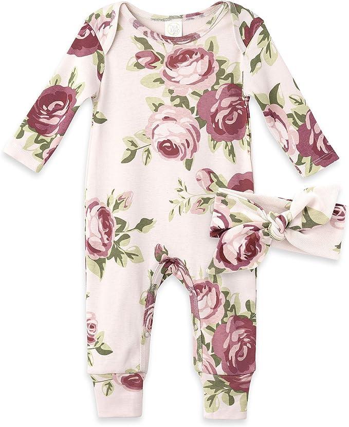 Tesababe Newborn Boy Clothes Baby Shower Gift Set Baby Boy Henley Romper Infant Boy Clothing Baby Boy Fox Romper