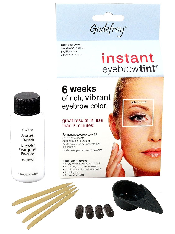 Godefroy Instant Eyebrow Tint Blister Light Brown Blister 505