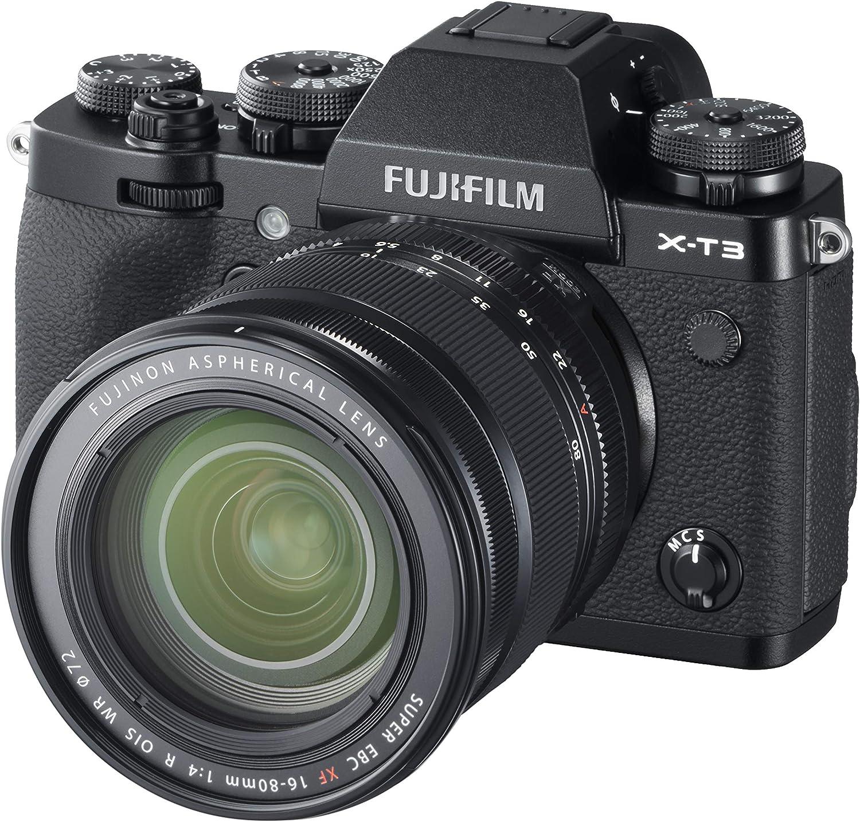 Fujifilm X-T3 Cámara Digital sin Espejo Color Negro, con Fujinon ...