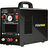 PrimeWeld 50A Air Inverter Plasma Cutter with Non-Touch Pilot Arc, Automatic Dual-Voltage (110V/220V) and Dual-Frequency…
