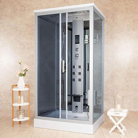 vorich Box ducha hidromasaje Sauna y baño turco 110 x 90 cm Element: Amazon.es: Hogar