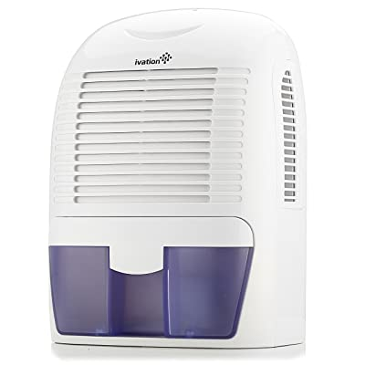 Ivation GDM30 Powerful Mid-Size Thermo-Electric Dehumidifier - Quietly Gathers Up to 20oz. of Water per Day - for Spaces Up to 2,200 Cubic Feet: Electronics