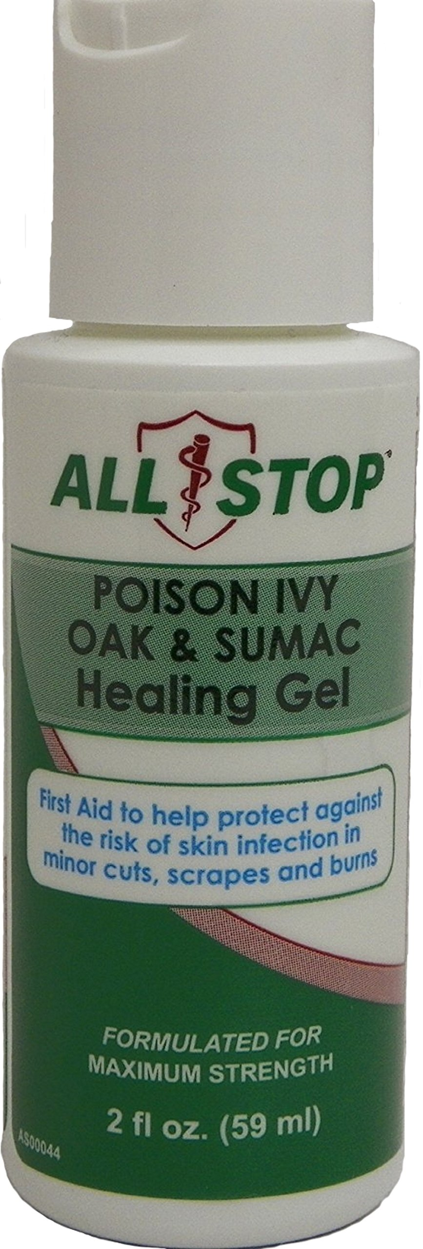 Poison Ivy, Poison Oak & Poison Sumac Healing Gel, Itch Cream - 2oz